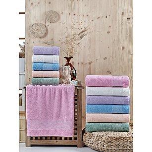 Комплект махровых полотенец DO&CO DANTELA, 50*90 см - 6 шт