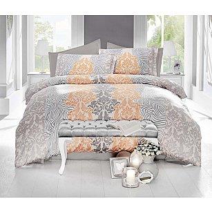 Комплект постельного белья ALTINBASAK VIVID Сатин (2 спальный), кремовый