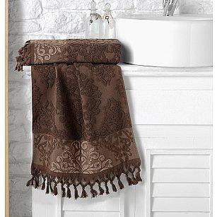 "Полотенце кухонное махровое ""KARNA OTTOMAN"", темно-коричневый, 40*60 см"