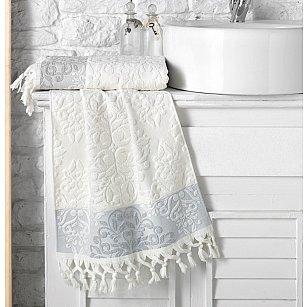 """Полотенце кухонное махровое """"KARNA OTTOMAN"""", кремовый, 40*60 см"""