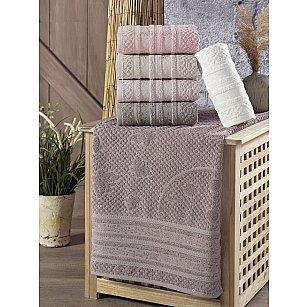 Комплект махровых полотенец PHILIPPUS SMART COTTON MARSILYA, 50*90 см - 6 шт