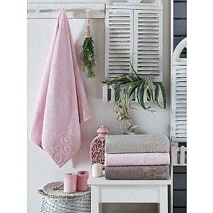 Комплект бамбуковых полотенец DO&CO BONITE, 50*90 см - 4 шт