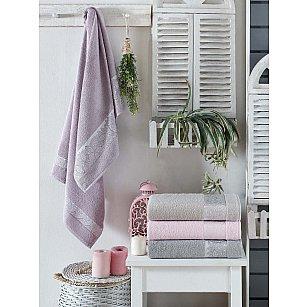 Комплект бамбуковых полотенец DO&CO DAISY, 50*90 см - 4 шт