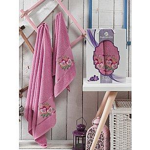 Комплект махровых полотенец MERZUKA VIOLET (50*80; 70*130), светло-лиловый