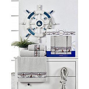 Комплект махровых полотенец Juanna Marin (50*90*2; 70*140), серый