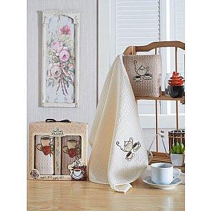Комплект вафельных салфеток METEOR BIONCE COFFE, 40*60 см - 2 шт