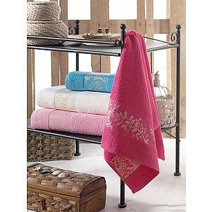 Комплект махровых полотенец DO&CO SPRING, 70*140 см - 4 шт