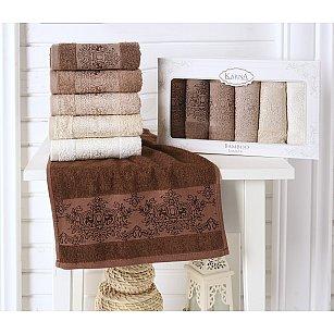 """Комплект кухонных полотенец бамбук """"KARNA PANDORA"""", v3, 30*50 см - 6 шт"""