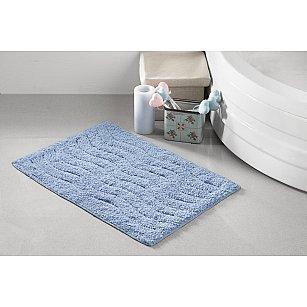 """Коврик для ванной """"MODALIN AREN"""", голубой, 40*60 см"""