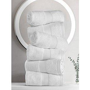 """Набор кухонных полотенец """"KARNA AREL"""", белый, 30*50 см - 6 шт"""