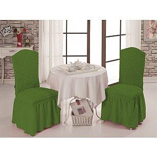 Набор чехлов на стулья 1/2, зеленый