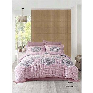 Комплект постельного белья ALTINBASAK SAYKA  (2 спальный), грязно-розовый