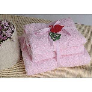 Полотенце махровое Shalla, розовый, 50*90 см