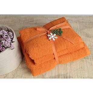 Полотенце махровое Shalla, оранжевый, 50*90 см