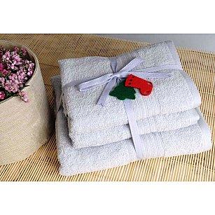 Набор полотенец Shalla, серый, 3 шт.