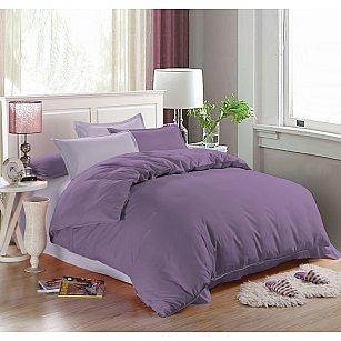 КПБ мако-сатин печатный Allegra, сиреневый, фиолетовый