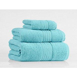 Набор полотенец Shalla, бирюзовый, 3 шт.