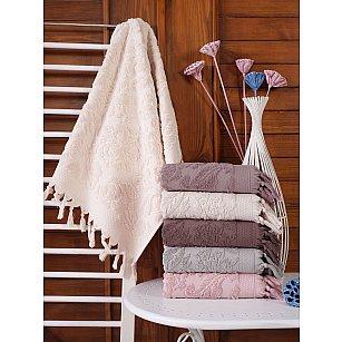 Комплект махровых полотенец DO&CO LILYUM, 50*90 см - 6 шт