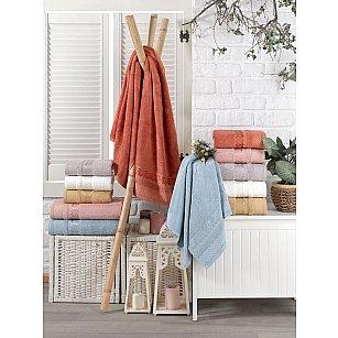 Комплект бамбуковых полотенец DO&CO AZUR, 50*90 см - 6 шт