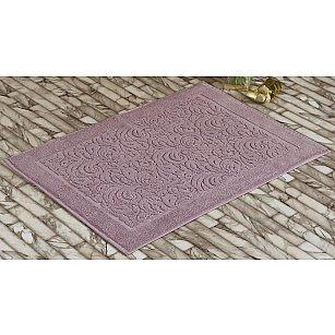 "Махровое полотенце для ног ""KARNA ESRA"", грязно-розовый, 50*70 см"