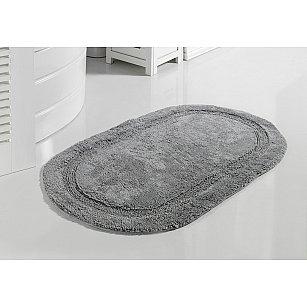 """Коврик для ванной кружевной """"MODALIN RACET"""", серый, 60*100 см"""