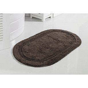 """Коврик для ванной кружевной """"MODALIN RACET"""", коричневый, 60*100 см"""
