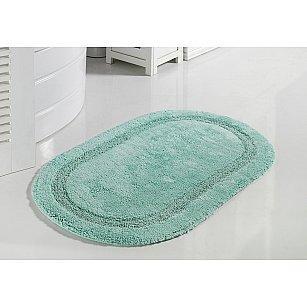 """Коврик для ванной кружевной """"MODALIN RACET"""", ментол, 60*100 см"""