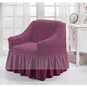 "Чехол для кресла ""BULSAN"", светло-лаванда"