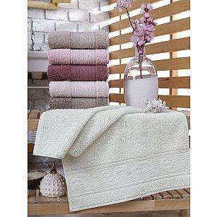 Комплект махровых полотенец DO&CO RIBELLA, 50*90 см - 6 шт