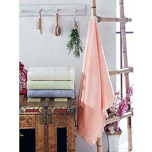 Комплект бамбуковых полотенец DO&CO JENNY, 50*90 см - 4 шт