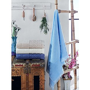 Комплект бамбуковых полотенец DO&CO HONEY, 50*90 см - 4 шт