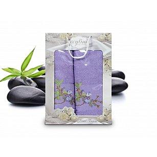 Комплект махровых полотенец Ceylin's Pearl Towel дизайн 05 (50*90; 70*140)