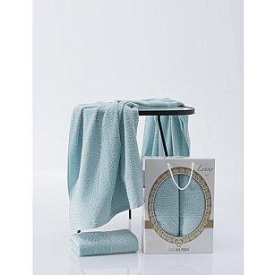 Комплект махровых полотенец TWO DOLPHINS LENNY (50*90; 70*140), бирюзовый
