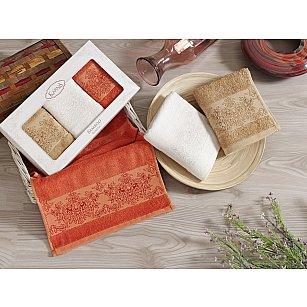 """Комплект кухонных полотенец бамбук """"KARNA PANDORA"""", v3, 30*50 см - 3 шт"""