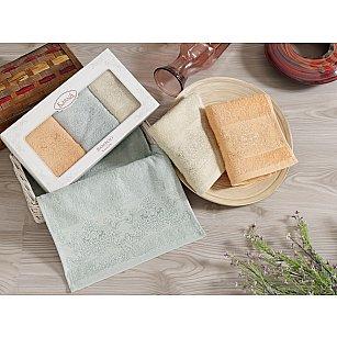 """Комплект кухонных полотенец бамбук """"KARNA PANDORA"""", v4, 30*50 см - 3 шт"""