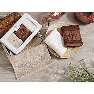 """Комплект кухонных полотенец бамбук """"KARNA PANDORA"""", v5, 30*50 см - 3 шт"""