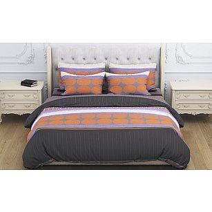 КПБ бязь exclusive Arfa (1.5 спальный), оранжевый