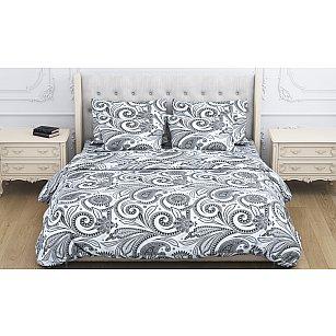 КПБ бязь exclusive Shafran (2 спальный), черный