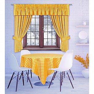 Комплект штор Margareta, оранжевый