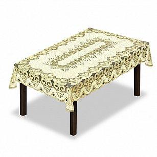 Скатерть №227900-100, кремовый, золотой