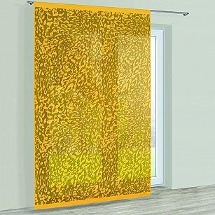 Японская штора №228540/250, золотой