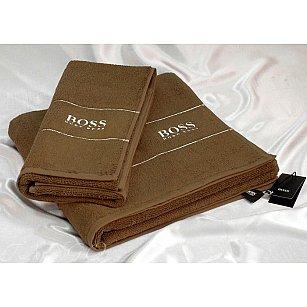 Комплект полотенец Virginia Secret HB (COTTON) в коробке (50*90; 70*140), бежевый
