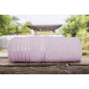 Полотенце однотонное с жаккардом Flesh, розовый