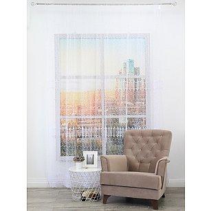 Тюль вышивка эконом Amore Mio RR 42211-w, белый, 300*270 см