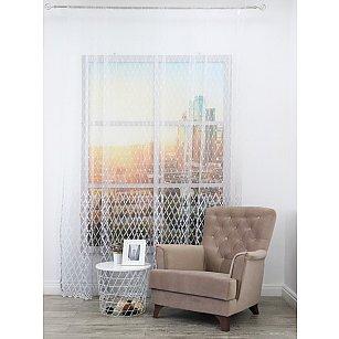 Тюль вышивка Premium RR 62208402-02, серый, 300*270 см