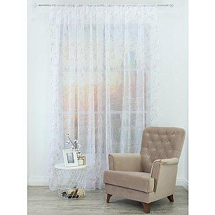 Тюль вышивка Premium RR 62010050-03, розовая пудра, 300*270 см