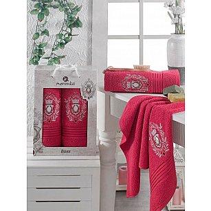 Комплект махровых полотенец Merzuka Boss дизайн 03 (50*80; 70*130)