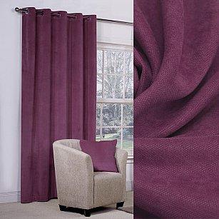 Шторы вельвет Amore Mio RR 1403-99, фиолетовый, 200*270 см