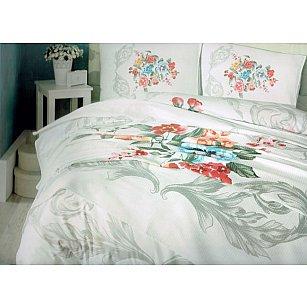 Набор Cotton Box КПБ Ранфорс+покрывало дизайн 02 (Евро)