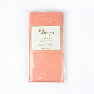 Комплект наволочек Arya Сатин Camino, персиковый